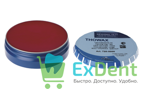 Воск Thowax-фрезерный, красный ж/банка (70 г)