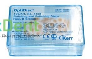 Диски полировочные OptiDisc оранжевый - тонкий (9,6 мм х 100 шт)