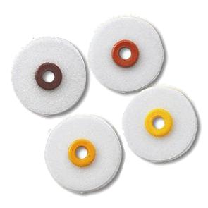 Диски полировочные OptiDisc желтый - ультра тонкий (9,6 мм х 100 шт)