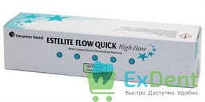 Estelite (Эстелайт) Flow Quick OPA2 - среднетекучий композитный материал для реставраций (3,6 г)