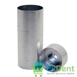Гильза алюминиевая для пресса (высота 100 мм, диаметр 25 мм)