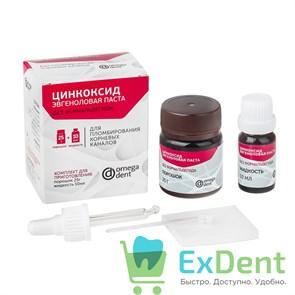 Цинкоксид-эвгеноловая паста - для пломбирования корневых каналов (без формальдегида) (25 г + 12 мл)