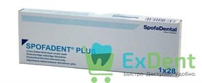 Гарнитур акриловых зубов А4 1/23H-0/7D 1/60H-1/60D - Spofadental Plus, трехслойные (28 шт)