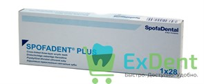 Гарнитур акриловых зубов А1 1/23H-0/7D 1/60H-1/60D - Spofadental Plus, трехслойные (28 шт)