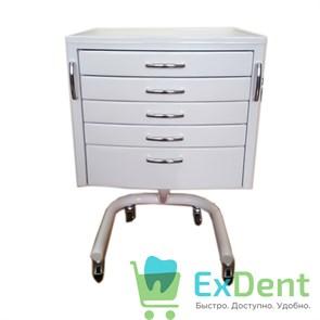 Стол стоматолога подкатной с 5 ящиками