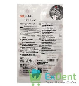 Диски Sof-Lex - красные средние (9.5 мм х 50 шт)