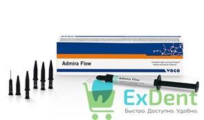 Admira (Адмира) Flow А3 - текучий светоотверждаемый пломбировочный материал (2 шпр. х 1,8 г)
