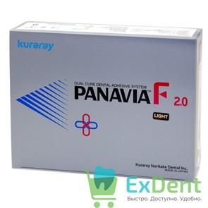 PANAVIA (Панавиа) F 2.0 Kit (Light) - цемент двойного отверждения для фиксации (5 г + 4,6 г + 2 х 4