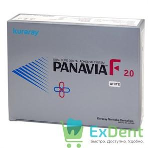 PANAVIA (Панавиа) F 2.0 Kit (white) - цемент двойного отверждения для фиксации (2.3 мл + 2.3 мл + 4