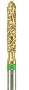 878-014C-FGM Бор алмазный NTI, хвостовик мини, форма торпеда, грубое зерно