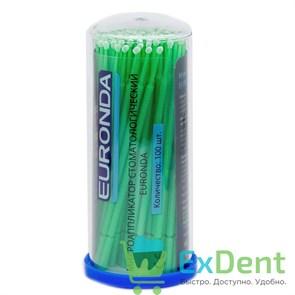 Аппликаторы Микробраш Euronda Regular (2 мм) - зеленые или оранжевые (100 шт)
