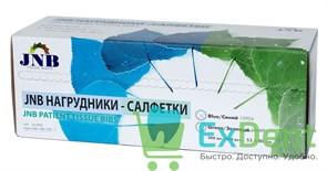 Салфетки (нагрудники, фартуки) пластиковые в рулоне, JNB синие 53х80 см (200 шт)
