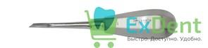 Элеватор №1 для удаления корней зубов прямой