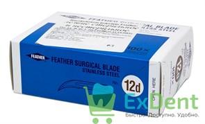 Лезвие хирургическое стерильное №12 D Япония (100 шт)