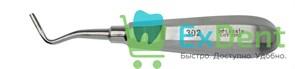 Элеватор №302 для удаления корней зубов угловой левый