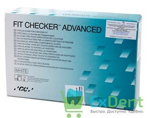 Fit Checker (Фит Чекер) Tube - силиконовый материал для подгонки съемных протезов (2 х 55 г + 50 г)
