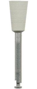 Полир (головка резиновая) P19035 RA, серый, чаша - для окончательного полирования композитов