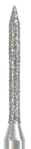 885-008M-FG Бор алмазный NTI, форма цилиндр, остроконечный, среднее зерно
