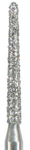 879K-012F-FG Бор алмазный NTI, форма торпеда, коническая, мелкое зерно