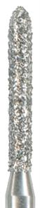 878K-012F-FG Бор алмазный NTI, форма торпеда,коническая, мелкое зерно