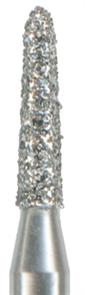 876K-012C-FG Бор алмазный NTI, форма торпеда, коническая, грубое зерно