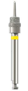 W6130.204.1 Торцевая фреза NTI, RA, желтый (D1 = 3,75 мм, D2 = 3 мм)
