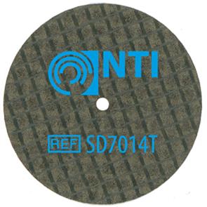 Диск отрезной для металла SD7014Т 0.40mm NTI