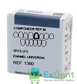 Componeer Ref. Upper M - Universal - 21 - виниры на верхний ряд (2 шт)