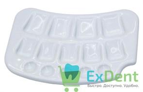 Палитра для керамики с ячейками под наклоном