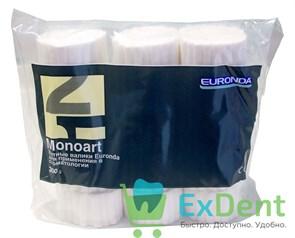 Валики ватные №1 Monoart, диаметр 8 мм - для применения в стоматологии (300 г)