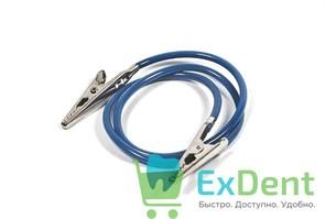 Зажимы металические с силиконовым шнуром для фиксации салфеток