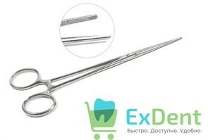 Зажим кровоостанавливающий зубчатый прямой 3-32 (20 см)