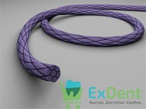 Шовный материал PGA (ПГА полигликолид) - синтетический рассасывающийся плетёный