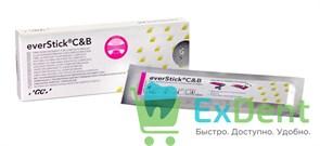 EverStick C&B - армирующее стекловолокно для мостовидных конструкций фронтальной группы зубов, лента 1 x 8cm