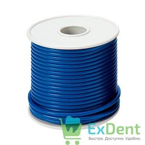 Воск GEO - восковая проволока,средней твердости, синяя (2,5 мм, 250 г)
