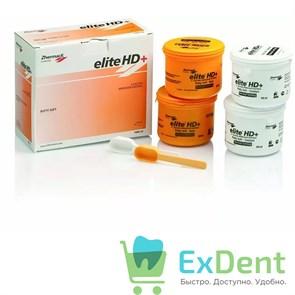 Elite (Элит) HD+ Putty Normal Set  - A-силикон очень высокой вязкости (4 х 450 мл)