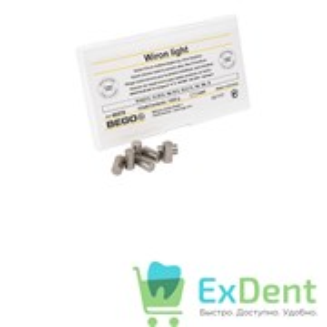 Вирон лайт / Wiron light сплав для литья металлических каркасов зубных протезов