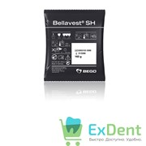 Bellavest SH - паковочный материал для точного литья каркасов коронок и мостов (80 x 160 г)