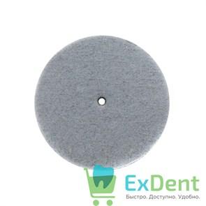 Полир силиконовый белый диаметр 22 мм для металла, пластмассы