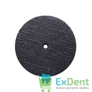 Диск силиконовый для пластмассы и металла, черный (22 мм)