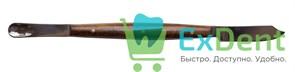 Нож-шпатель зуботехнический с деревянной ручкой, (170мм)