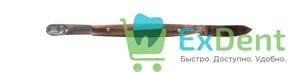 Нож - шпатель зуботехнический малый, для воска (125 мм)