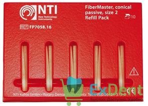 Штифты стекловолоконные FiberPosts №2 NTI красный (D = 0.9 мм) (10 шт)