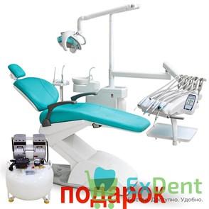 Стоматологическая установка AM8015 (Victor 6015 ADV) верхняя подача инструментов