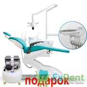 Стоматологическая установка AM8015 (Victor 6015 ADV) нижняя подача инструментов