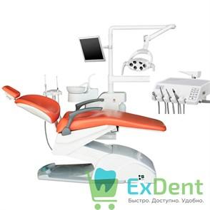 Стоматологическая установка AM8015 (Victor 6015) эконом нижняя подача инструментов