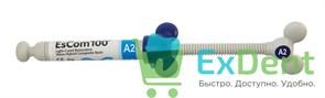 EsCom (Еском) 100 A2 - наногибридный пломбировочный материал (4 г)