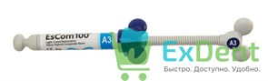 EsCom (Еском) 100 A3 - наногибридный пломбировочный материал (4 г)