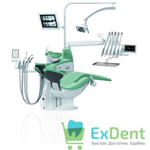 Стоматологическая установка DIPLOMAT ADEPT DA270 с креслом DM20, верхняя подача инструментов