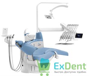 Стоматологическая установка DIPLOMAT ADEPT DA370 с креслом DM20, верхняя подача инструментов